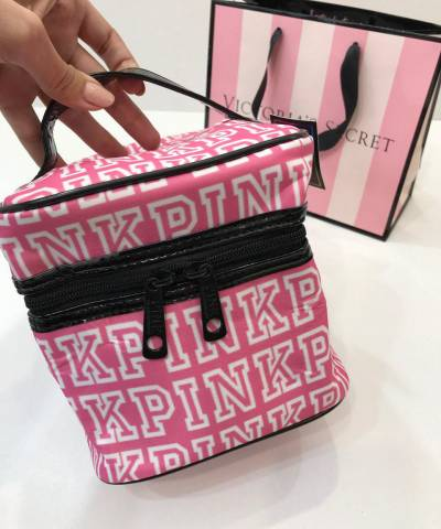 Косметичка Victoria's Secret Makeup Cosmetic Bag Pink